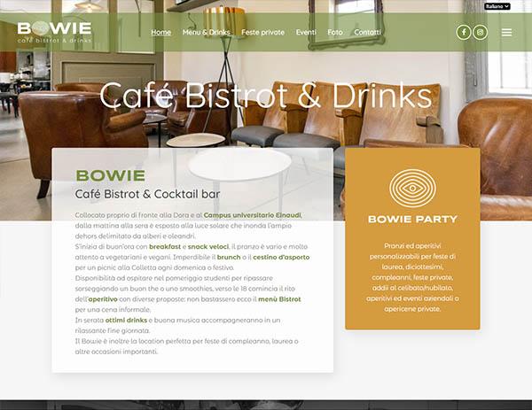 Bowie Torino sito web