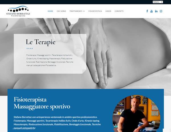 Stefano Borrattaz sito web
